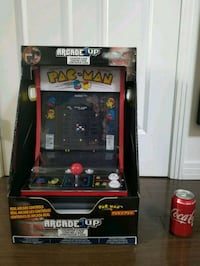 Arcade1up Pacman and Pac & Pal