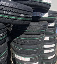 "BRIDGESTONE V-STEEL 16"" TIRES  RIB 265 Heavy Duty Commercial  LT245/75R16 ...$145 Each  La Habra"