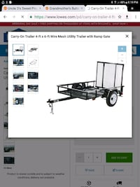 Wanted small cargo trailer Clute, 77531