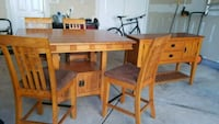 Solid wooden 8 piece dinette set Fairfax, 22030