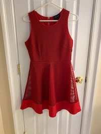 Romeo + Juliet Couture Red Dress Chesapeake, 23322