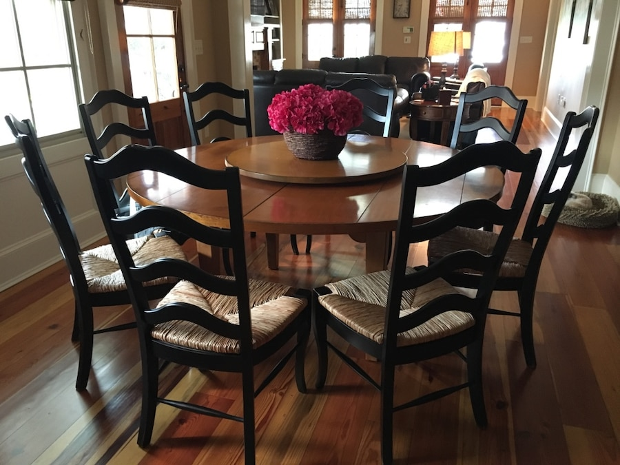 REDUCED Drexel Heritage Dining Table And Lazy Susan