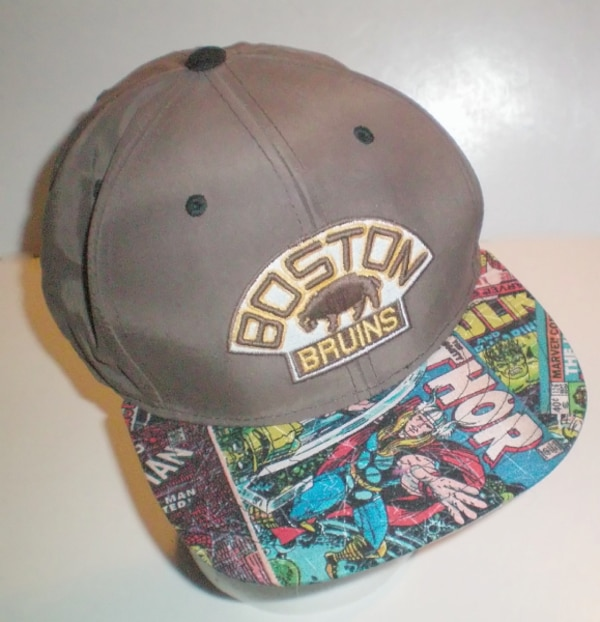Boston Bruins Vintage Logo Marvel Comics Adjustable Cap dfd1b00c-a2e9-4de3-9539-d454616c533e