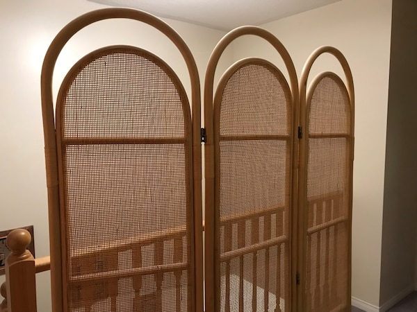 Wood Room Partition