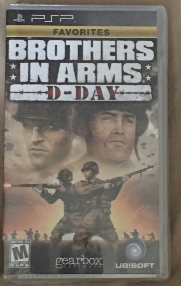 Used Psp Game Brothers In Arms D Day Brand New For Sale In Slidell Letgo