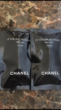 Chanel 2-Mini Sealed Packets Of Mascara Color-Noir/Black 1ml In Each Sealed Packet  Beverly Hills, 90212