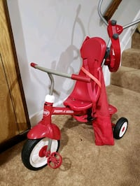 Radio Flyer Tricycle w/ Push Handles