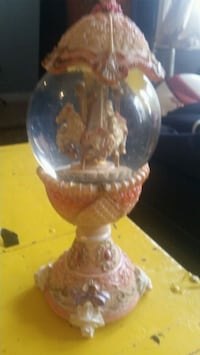 Beautiful Egg-shaped musical carousel $50