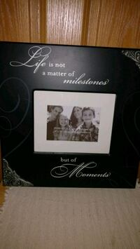 Picture Frame with saying. POOS Clare, 48617