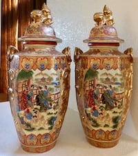 """TWO JAPANESE VASES 20"""" INCHES TALL Chandler, 85225"""