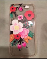 white, pink, and green floral iPhone case Bellevue