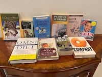 10 new and used books in perfect condition all for $20