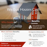 We Buy Houses CASH Pointe-Claire