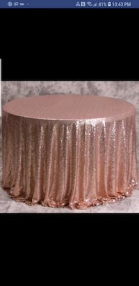 Rose gold table cloth  Surrey, V3S 1R8