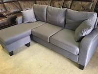New grey color SOFT fabric sectional  德卢斯, 30024