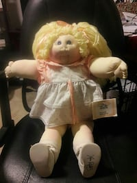 Reduced original cloth cabbage patch doll