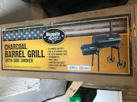 Charcoal grill with side smoker King, 27021