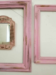 Shabby Chic picture frames & Mirror