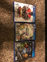 three assorted PS4 game cases Cajah's Mountain, 28645