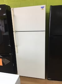 GE beige top freezer refrigerator  Woodbridge, 22191