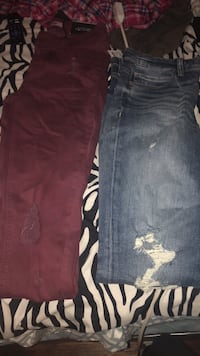 2 Pairs of jeans.  Both SIZE 4 Buffalo, 14210