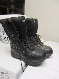 boot kids snow winter boots new condition all size 8 $