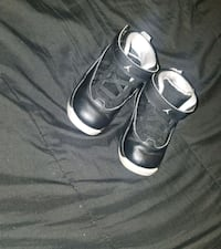 pair of black Nike basketball shoes Columbus
