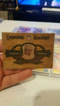 Card made from real lumber  Jessup, 20794