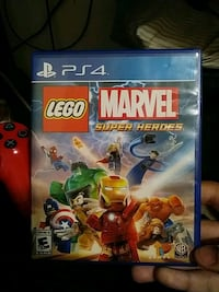Sony PS4 Lego Marvel super heros game case Fort Worth, 76131