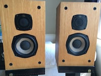 Set of Castle Durham Speakers w/without stands Mark as sold Sterling