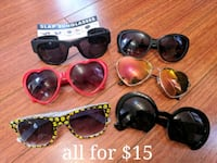 Funky sunglasses, used and new, all for $10 Vaughan