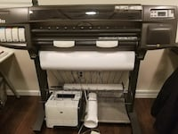 Hp designjet 1055cm plus + paper and ink Lincolnia, 22312