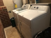 white washer and dryer set Greensboro, 27410