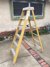 yellow and gray metal ladder Buena Park, 90620