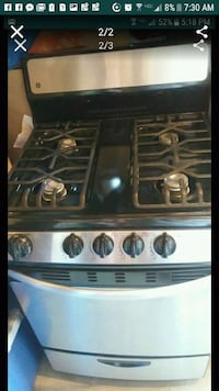 black and gray gas range oven Bloomington, 92316