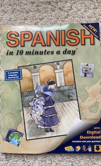 Spanish in 10 minutes a day book Falls Church, 22042