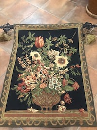 """Beautiful tapestry with tassels. 27"""" by 34"""" Huntington, 11743"""