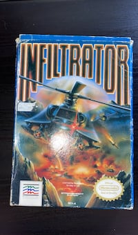 Infiltrator in box for NES