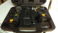 black and yellow mac cordless power drill