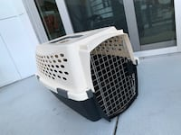 Pet Travel Cage with cat scratcher