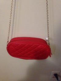 red leather crossbody bag with fringe Winnipeg, R2L 1P8