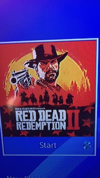 Red dead redemption 2 PS4 ultimate addition package with maps Acton, L7J 1Z3