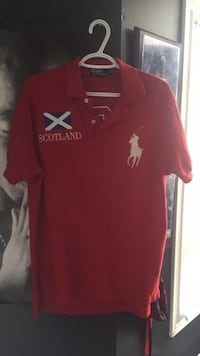 Red polo shirt brand new Brampton, L7A 1M2