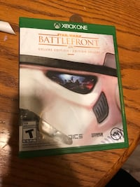 Star Wars battlefront Deluxe Edition for the Xbox one Mississauga, L5N 0C3