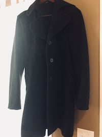 black button-up coat Calgary, T3P