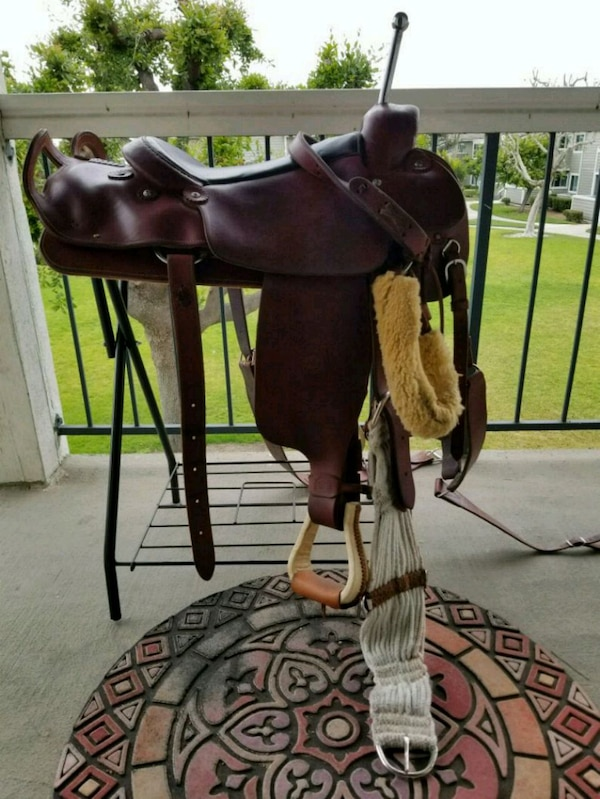 Trick Riding Saddle