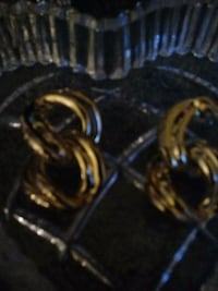 Real gold earing Columbia, 21045