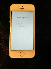 Iphone 5s 16gb locked to Fido