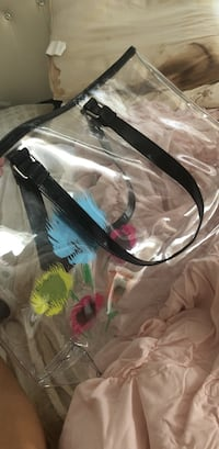 See through flower purse.  Mc Lean, 22101