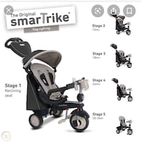 smarTrike 5-in-1 Baby Tricycle